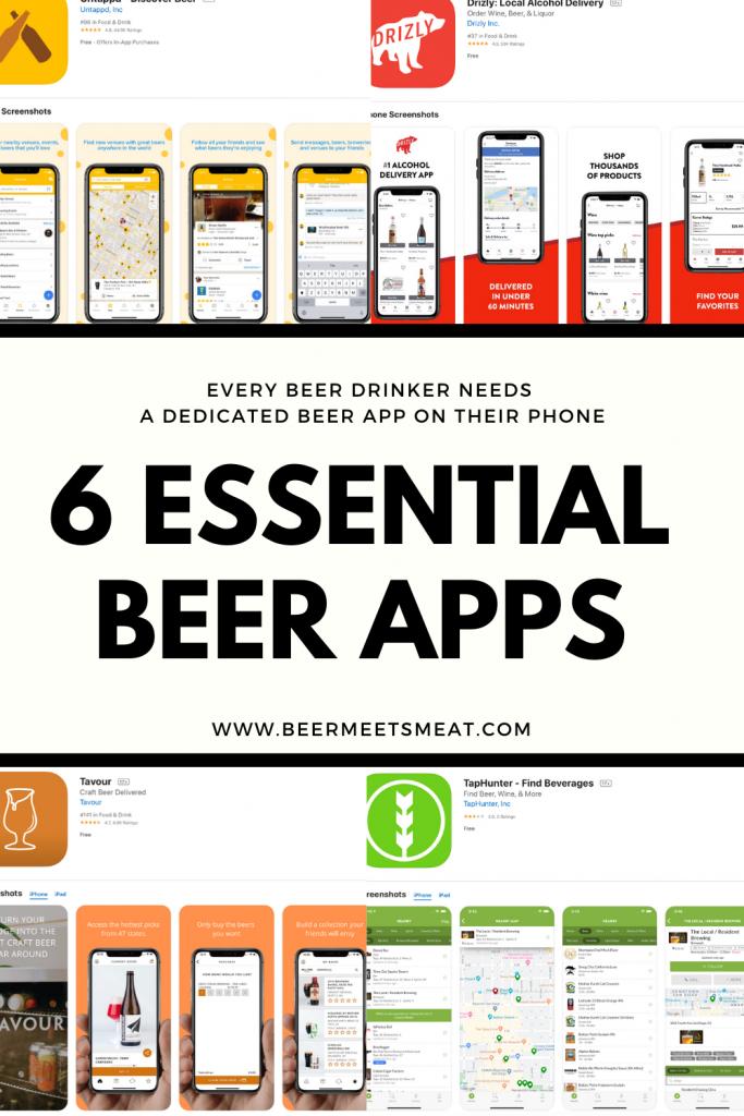 6 Essential Beer Apps