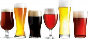 Luminarc Assorted Craft Brew Beer Glasses