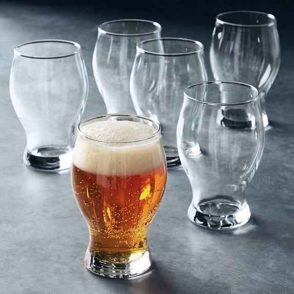 open kitchen Barlow beer glasses