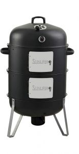 XL Wood and Charcoal Smoker Grill