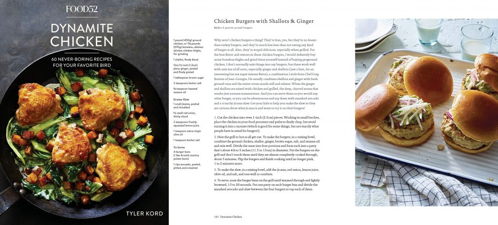 dynamite chicken bestselling cookbook