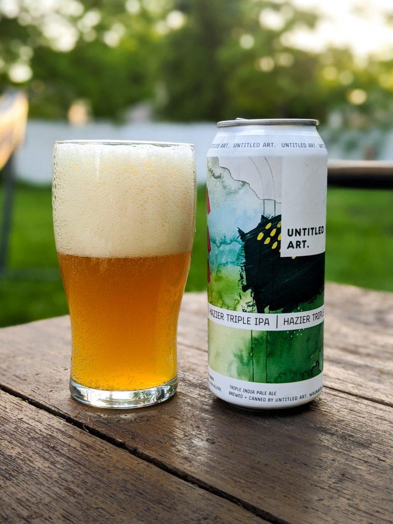 hazier IPA untitled art beer