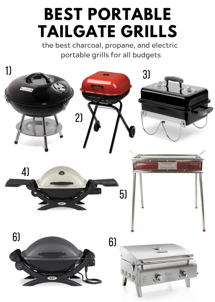 portable tailgate grills