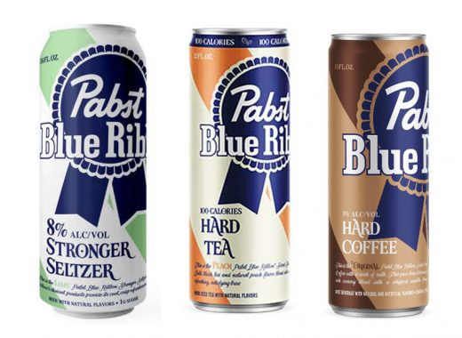 Pabst Hard Selzer Tea and Hard Coffee