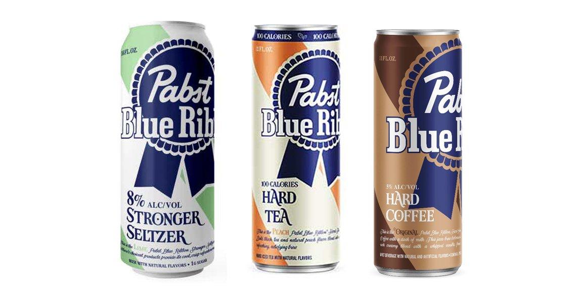 Pabst Hard Selzer Tea and Hard Coffee